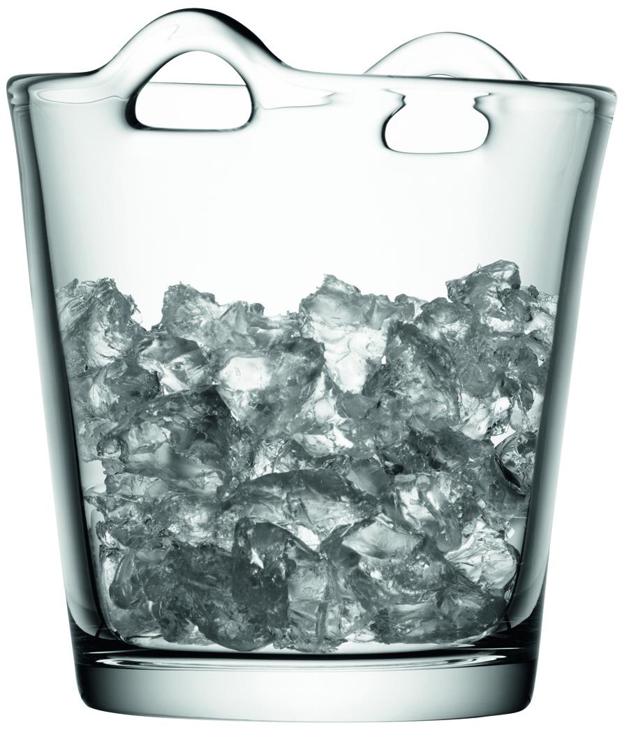 LSA chladicí kbelík BAR, výška 19 cm, čirý
